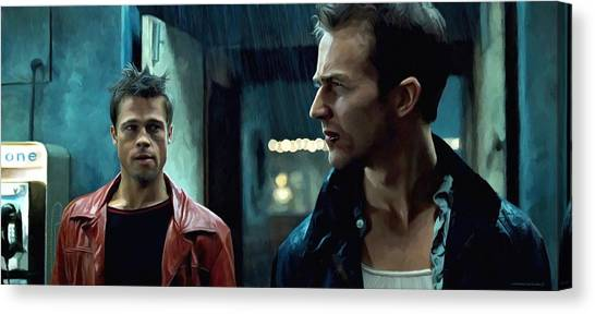 Fight Club #1 Large Size Painting Canvas Print