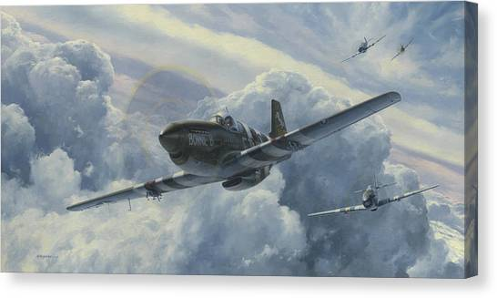 Ace Canvas Print - Fighting Cobras by Wade Meyers