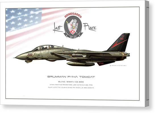 Iraq Canvas Print - Fighting Renegades Profile by Peter Van Stigt