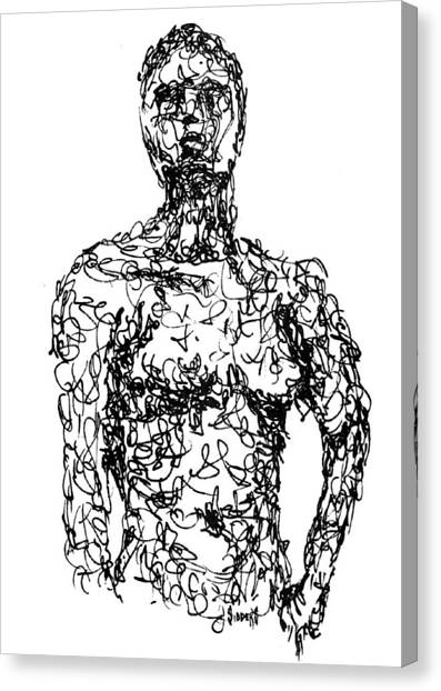 Figure Canvas Print - Figure by Sam Sidders