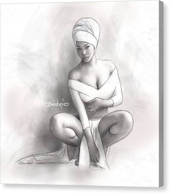 Figure Study 1 Canvas Print