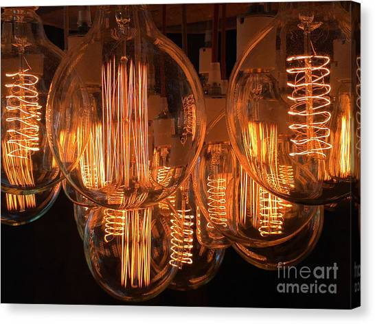 Filaments Canvas Print