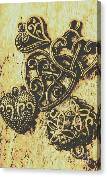 Present Canvas Print - Filigree Love by Jorgo Photography - Wall Art Gallery