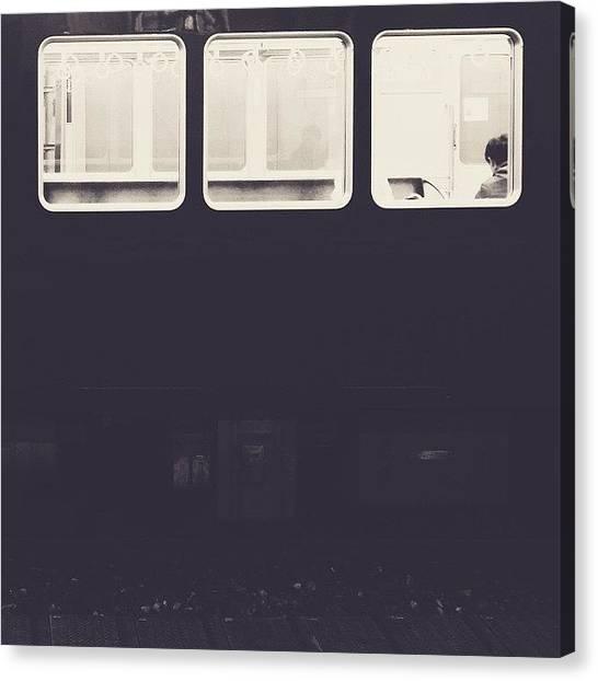 Fillet Canvas Print - #fillet #osaka by Mayako K