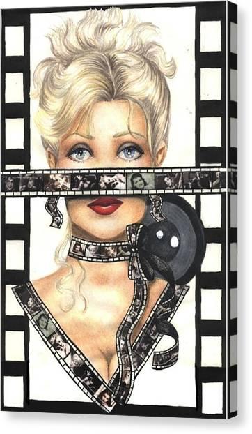 Film 1 Canvas Print by Scarlett Royal