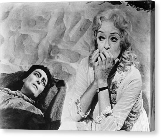 Film: Baby Jane, 1962 Canvas Print