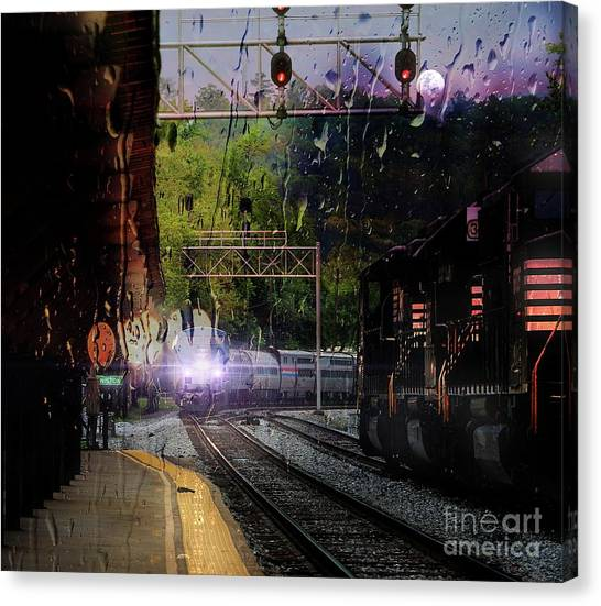 Final Approach Canvas Print
