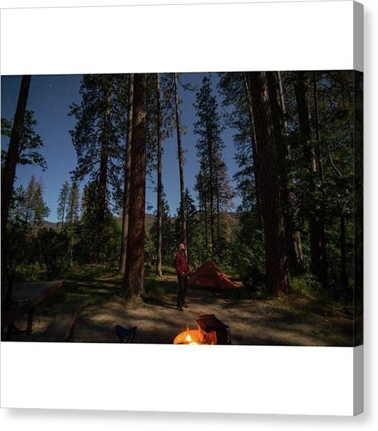 Flannel Canvas Print - Final Edit, Lightroom stargazer by Allen Solomon