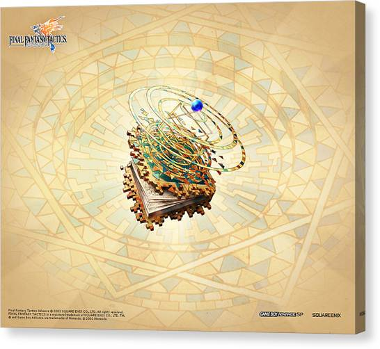 Final Fantasy Canvas Print - Final Fantasy Tactics Advance by Maye Loeser