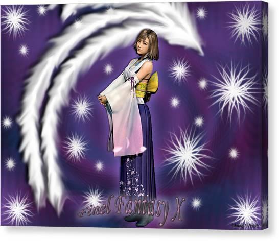 Final Fantasy Canvas Print - Final Fantasy X by Mery Moon