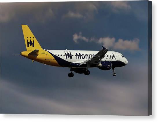 Monarch Canvas Print - Final Landing  by Smart Aviation