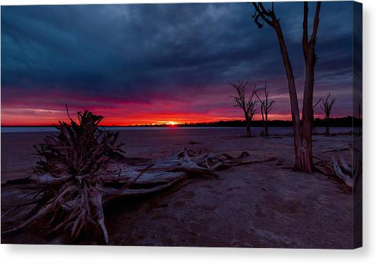 Final Sunset Canvas Print