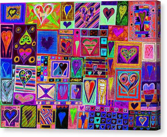 Find U'r Love Found 2 Canvas Print