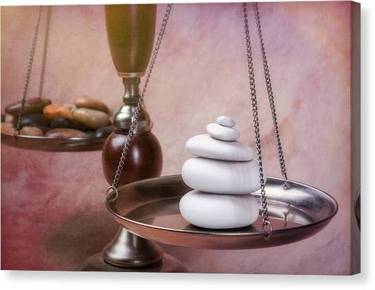 Meditation Canvas Print - Find Your Balance by Tom Mc Nemar