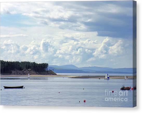 Findhorn Bay - Moray Firth Canvas Print
