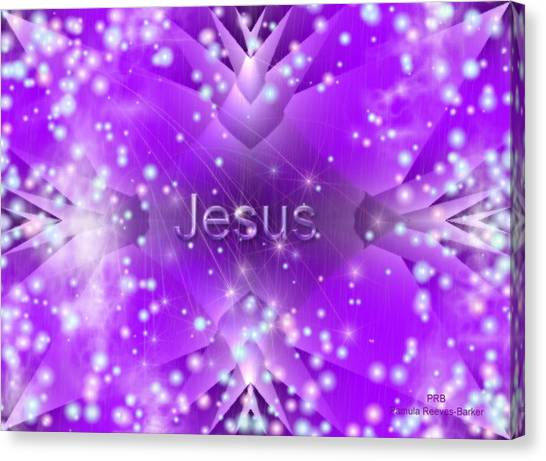 Canvas Print - Finding Jesus by Pamula Reeves-Barker