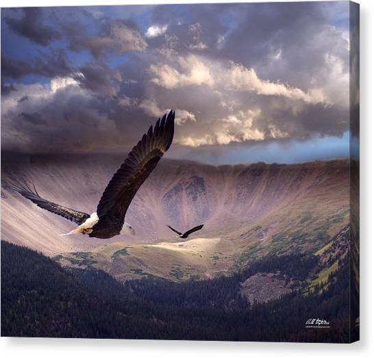 Finding Tranquility Canvas Print