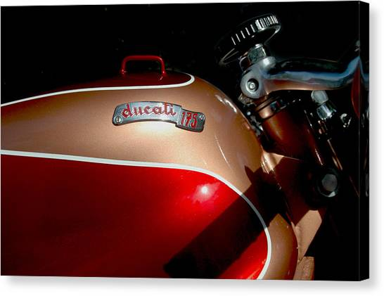 Ducati Canvas Print - Fine Art From Italy by William Jones