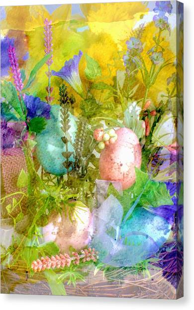 Canvas Print featuring the photograph Fine Art Spring Arrangement by Michael Moriarty