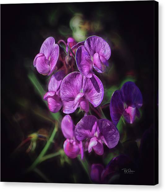Fine Flower Arrangement Canvas Print
