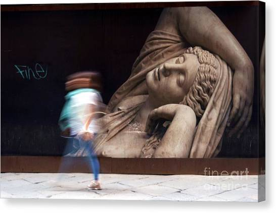 The Uffizi Gallery Canvas Print - Fine by Patricia Strand