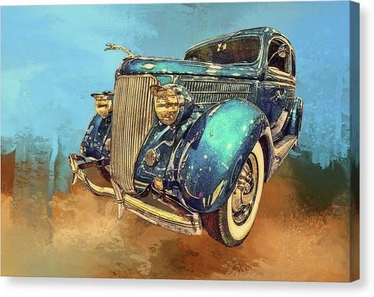 Fine Ride Canvas Print