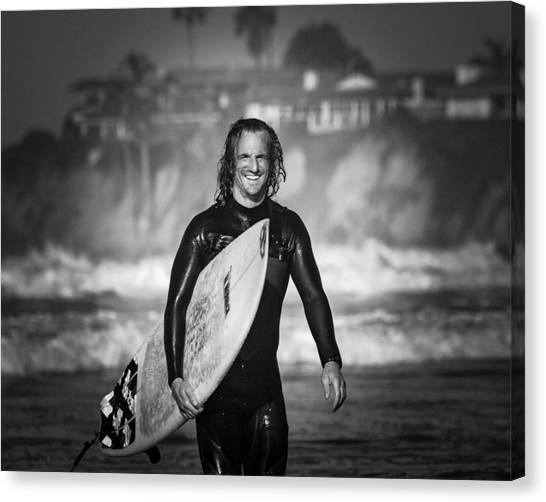 Finished Surfing Canvas Print