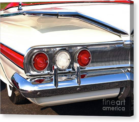 Fins Were In - 1960 Chevrolet Canvas Print