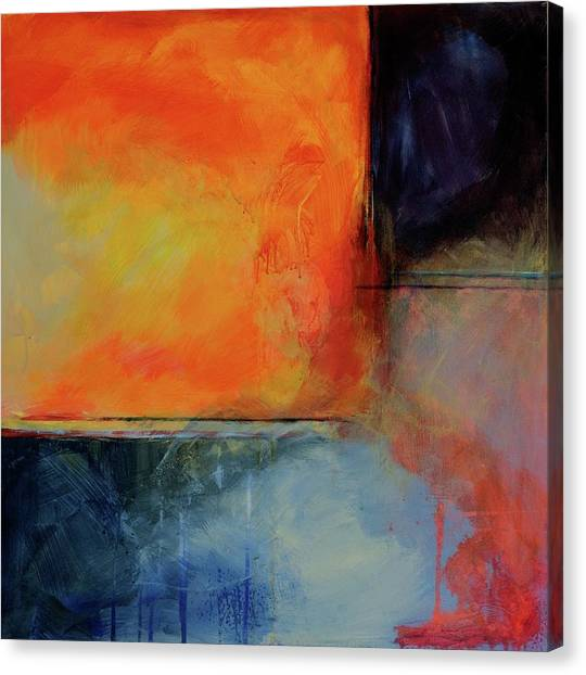 Fire And Rain Canvas Print