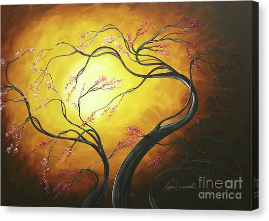 Canvas Print - Fire Blossoms by Megan Duncanson