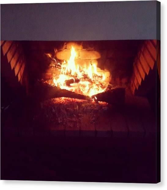Portal Canvas Print - #fire by Fernando Portal