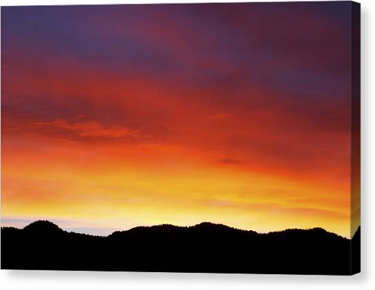 Vivid Canvas Print - Fire In My Heart by Kristin Davidson