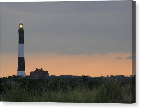 Fire Island Light Canvas Print