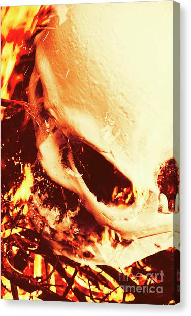 Star Trek Canvas Print - Fire Of Doom by Jorgo Photography - Wall Art Gallery