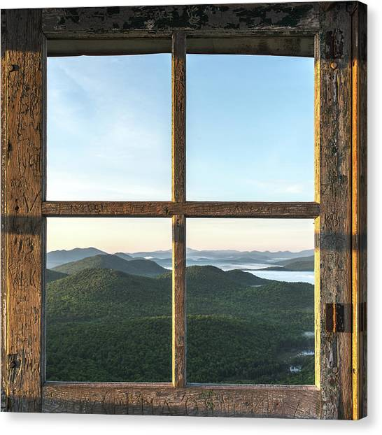 Fire Tower Frame Canvas Print