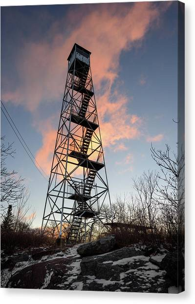 Fire Tower Sky Canvas Print