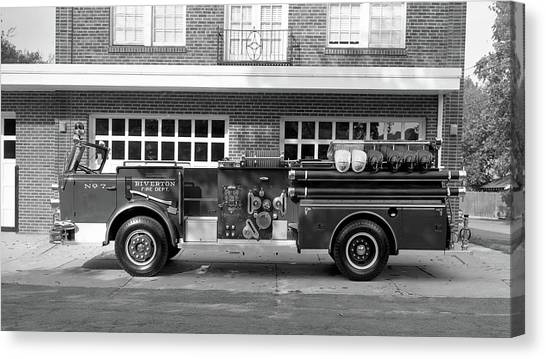 Fire Truck Canvas Print
