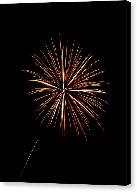 Frieworks Canvas Print - Fire Works by Gary Langley
