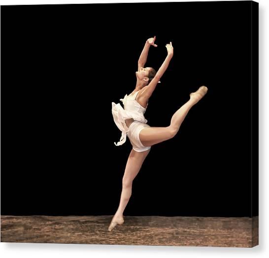 Firebird Ballet Position Canvas Print