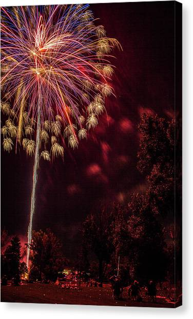 Fired Up Canvas Print