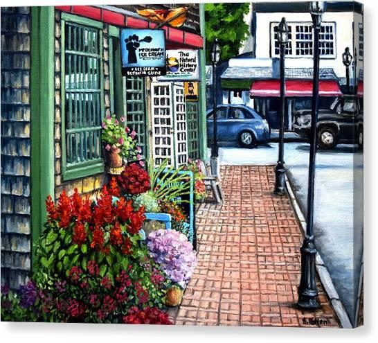 Firefly Lane Bar Harbor Maine Canvas Print