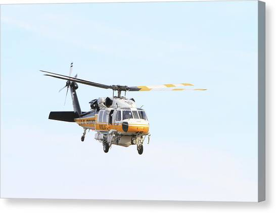 Firehawk In Flight Canvas Print