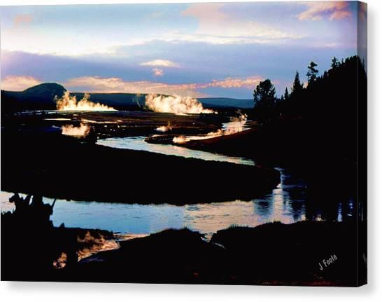 Firehole River 2 Canvas Print