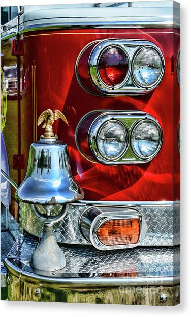 First Responders Canvas Print - Fireman -this Is My Fire Bell by Paul Ward