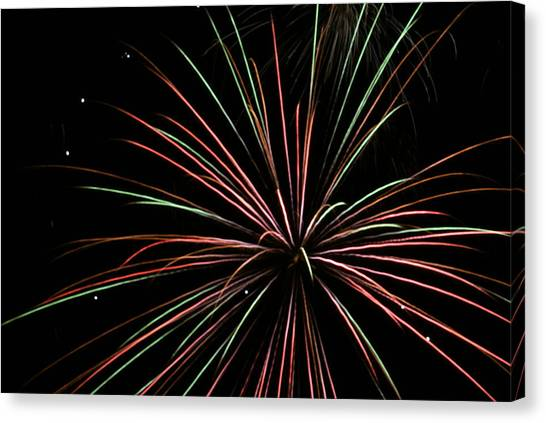 Fireworks 2 Canvas Print
