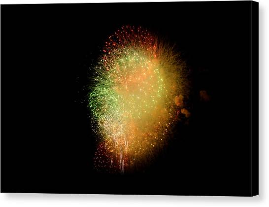 Fireworks  Canvas Print by Brynn Ditsche