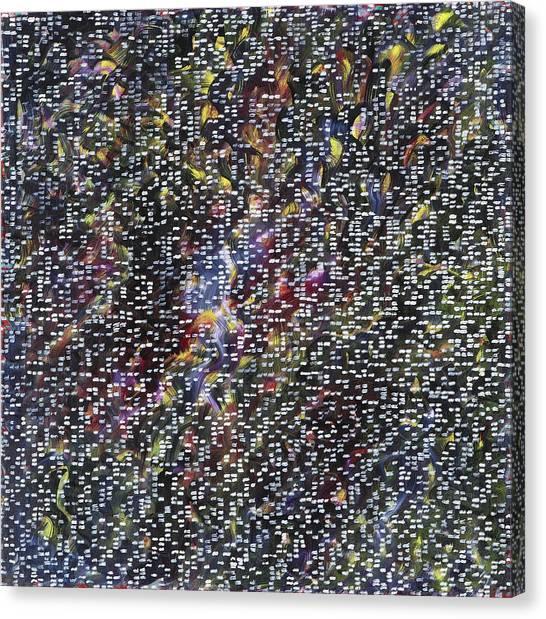 Fireworks Canvas Print by Joan De Bot