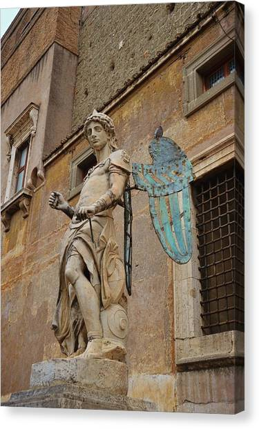 First Angel Canvas Print by JAMART Photography