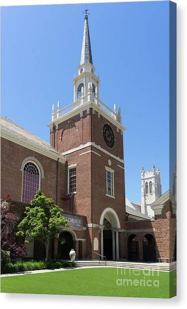 First Congregational Church Of Berkeley California Dsc6220 Canvas Print