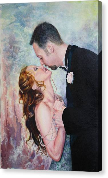 First Dance Canvas Print